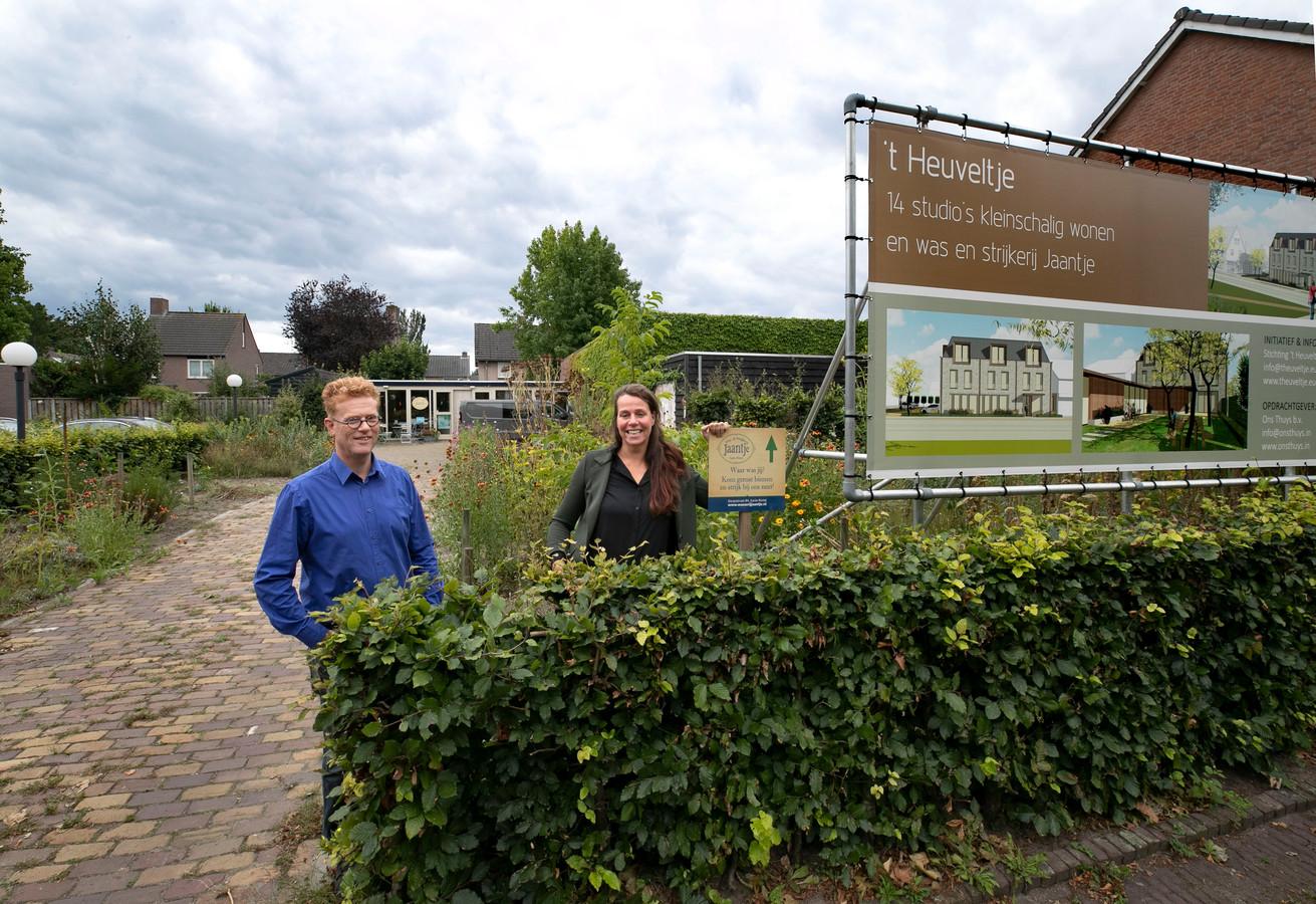 2 sep '20   Artikel in het Eindhovens Dagblad over 't Heuveltje